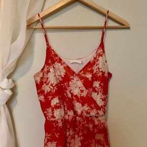 Lush Dresses - Lush red high low dress